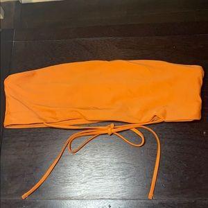 Other - Orange Rusty bikini top
